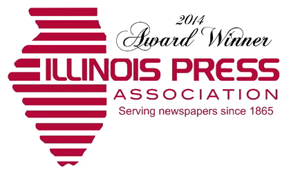 Illinois Press Association Winner | Christine Otten | Website and Graphic Design