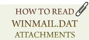 How to read Winmail.dat attachments