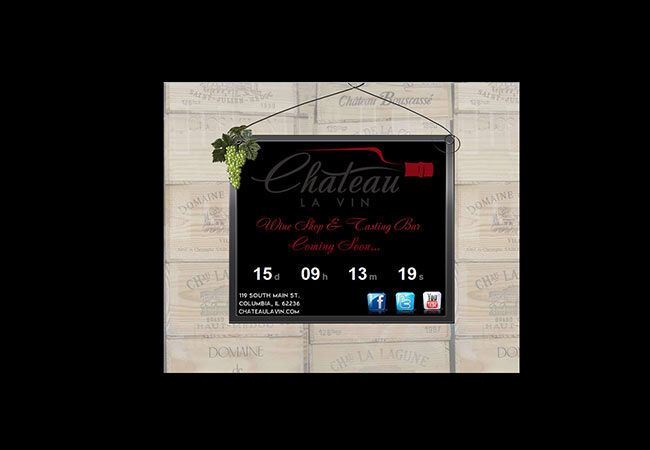 Chateau La Vin | Website Countdown