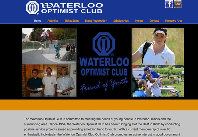 Waterloo Optimist Club | Designs by Christine Otten