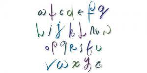 Create a Font from your own Handwriting